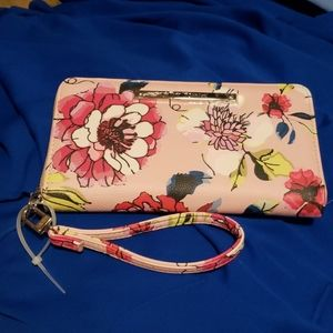 NWT Betsy Johnson Floral Wallet